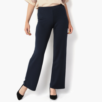 Harga SM Woman Prima Flared Pants (Navy Blue)
