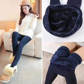 Fashionista Fashionable Plain Leggings (Navy Blue) Price Philippines