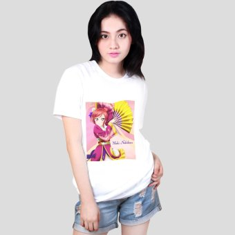 Harga Anime Maki Nishikino Love Live! School Idol Project Printed White Shirt (Unisex)