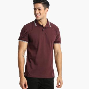 Men's Club Mens Pique Polo Shirt (Red) Price Philippines