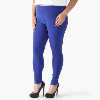 Harga SM Woman Plus Leggings (Navy Blue)