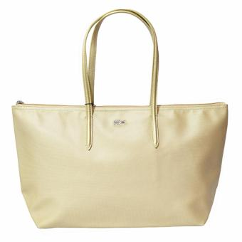 Harga Lacoste Horizontal 2016 Edition Tote Bag (Gold)
