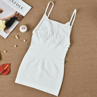Munafie Slimming Camisole Sando (White) Price Philippines