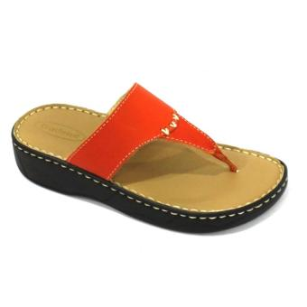 Harga Outland Carla Sandals (Orange)