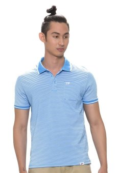 Harga Bobson Men's Stripes Polo Tee (Blue)