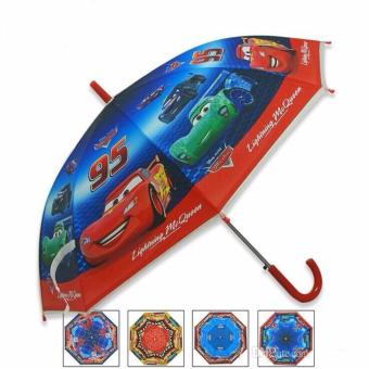 ZMB Kid's Umbrella Rainwear and Sunshade for Boys (Cars) Price Philippines