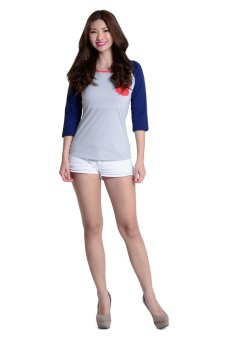 Lee Ladies Raglan Tee (Grey Melange) Price Philippines