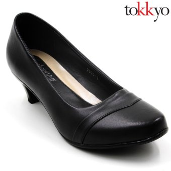 Harga Tokyo Shoes Women's Jacy 3638-5 Sable Shoes (Black)