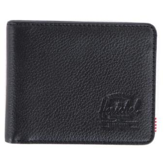Harga Herschel Hank Leather Wallet (Black)