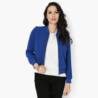 Harga SM Woman Career Bomber Jacket (Royal Blue)