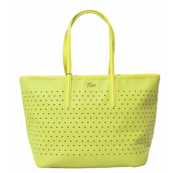 Harga Lacoste Chantaco Perforated Pique Tote Bag (Yellow)