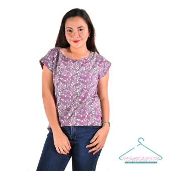 Fashionista Kath Women's Fashionable Blouse T-Shirt Price Philippines