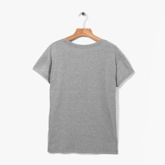 Harga SM Woman Mojito Statement Tee (Gray)