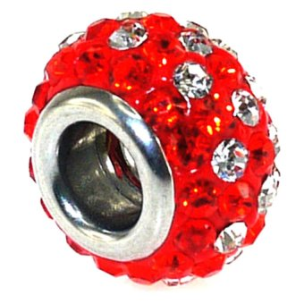 Imono Steel Jewelry 191ISP Charm (Red)