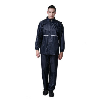 Impermeable durable 2016 Motorcycle Raincoat Rain Pants Suit RidingBicycles Outdoor Reflective Creative Raincoat L-4XL - intl