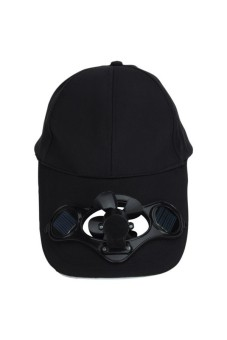 ing Fan for Golf Base Solar Power Hat Black - picture 2