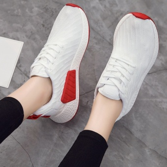 INN New Korean version of comfortable running shoes(White) - intl Price in Philippines