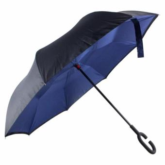 Inverted C- handle Umbrella (NavyBlue) Price Philippines