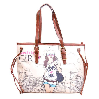 Iris 88H Shoulder Bag with Pouch (Coffee)