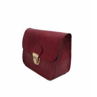 Isabel K005 Crossbody Shoulder Bag (Red) - 2