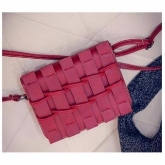 Isabel K008 Fashionable Sling Bag (Red)