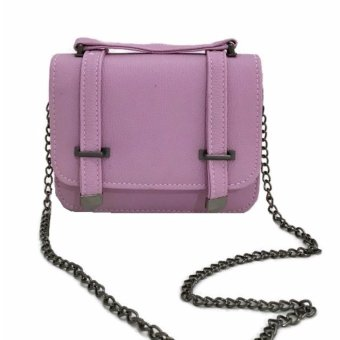Isabel K013 Fashionable Crossbody Shoulder Bag (Purple Candy)
