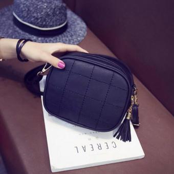 Isabel K055 Fancy Shoulder Crossbody Bag (Black) - 2