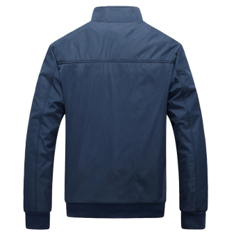 Jacket Men Overcoat Casual Bomber Jackets Mens Outdoor Windbreaker Coat Jaqueta Masculina Veste Homme Brand Clothing - intl - 3
