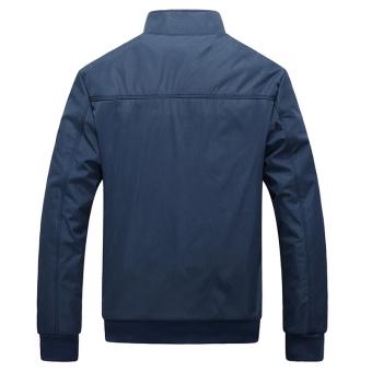 Jacket Men Overcoat Casual Bomber Jackets Mens Outdoor Windbreaker Coat Jaqueta Masculina Veste Homme Brand Clothing - intl - 5