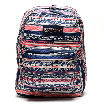 Jansport Digibreak Backpack (Navy Color Geo) Price Philippines