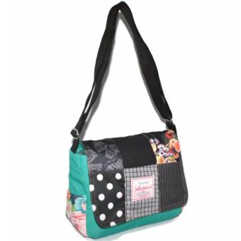Jellybeans Sling bag Courtney (Blue green) - 2