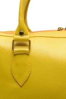 Jewelmine Hepburn Top-Handle Bag (Yellow) - picture 2
