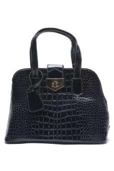Jewelmine Mcqueen Victoria Shoulder Bag (Black)