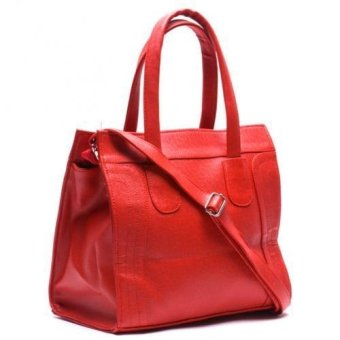 Jewelmine Reese Micro Luggage Tote Bag (Red) - picture 2