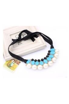 Jewelry Pendant Beads Choker Neck Rose