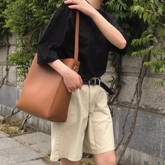Jianyue New style shoulder bag (Brown)