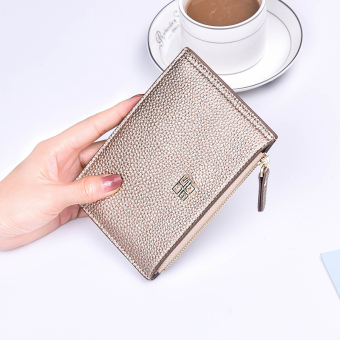 Jianyue small mini slim card holder bank card holder (Tyrant gold)