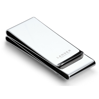 Jianyue Stainless Steel Men's portable money clip metal wallet