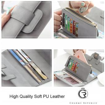 Joanne Premium Soft Leather Wallet (Premium Teal) - 2