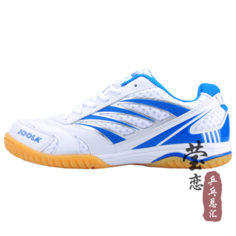 Joola professional breathable sports shoes table tennis ball shoes (White)