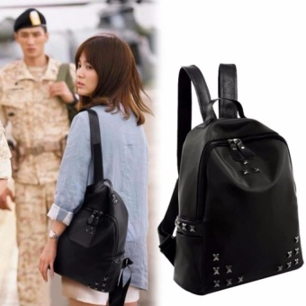 JOOX High Quality Korea Style Backpack (Song Hye Kyo same paragraph) - intl