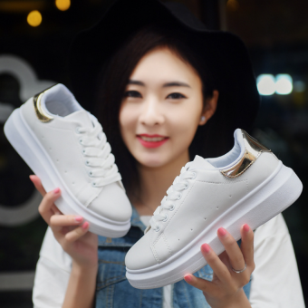 JOY increased thick white shoe - Intl - 3