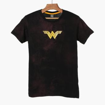 Justice League Boys Teens Graphic Tee (Black)