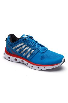 K-Swiss KSO03376449 X Lite Men's Sneakers (Methyl Blue/White/Fiery Red)