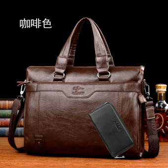 Kangaroo men's handbag (PARK'S color [to send handbag])