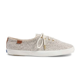 Keds Champion CH Salt & Pepper Sneakers (Cream)