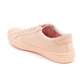 Keds Ladies Ace Mono Leather Sneakers (Pale Peach) - 3