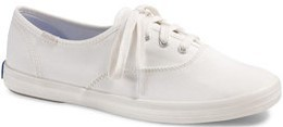 Keds Ladies Champion Ox Seasonal Solid Sneakers (Cream)