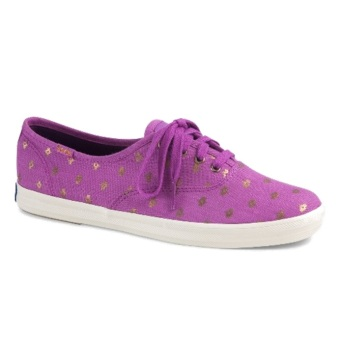 Keds WF53400 CH Metallic Native Dot Women's Sneaker Shoes (Magenta)