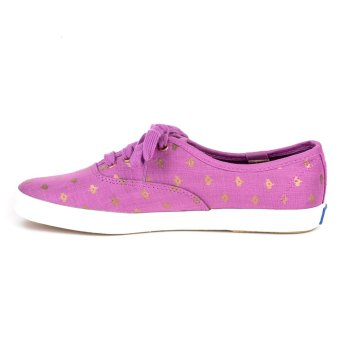 KEDS WF53400 CH Metallic Native Dot Women's Sneaker Shoes (Magenta) - 2
